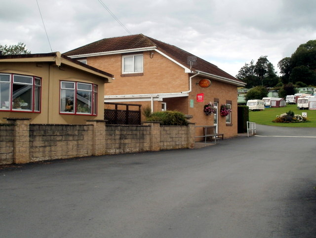 Bronllys post office and store, Anchorage Caravan Park