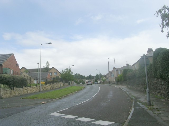 Gaisby Lane - viewed from Festival Avenue