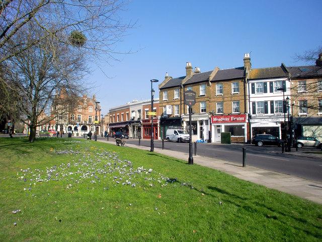 Winchmore Hill Green, London N21