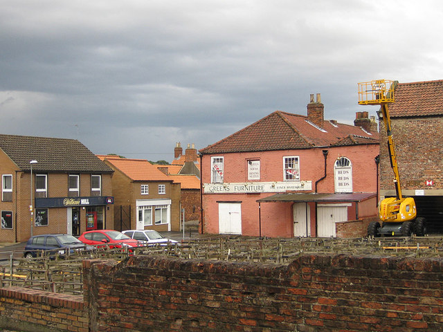 Green's Furniture store and the bookies, Malton
