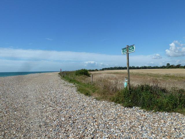 Along the coast from Atherington to Elmer (4)