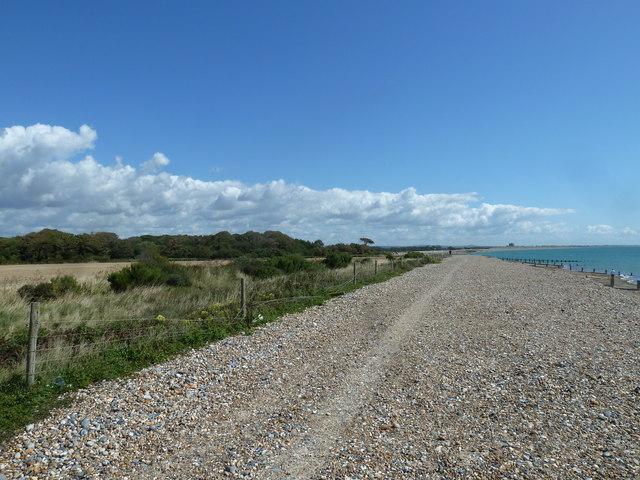 Along the coast from Atherington to Elmer (6)