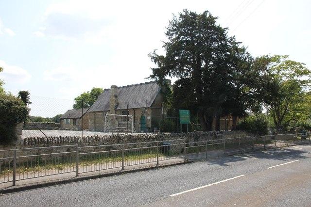 School on the corner