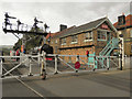 NZ8205 : Grosmont Crossing by David Dixon
