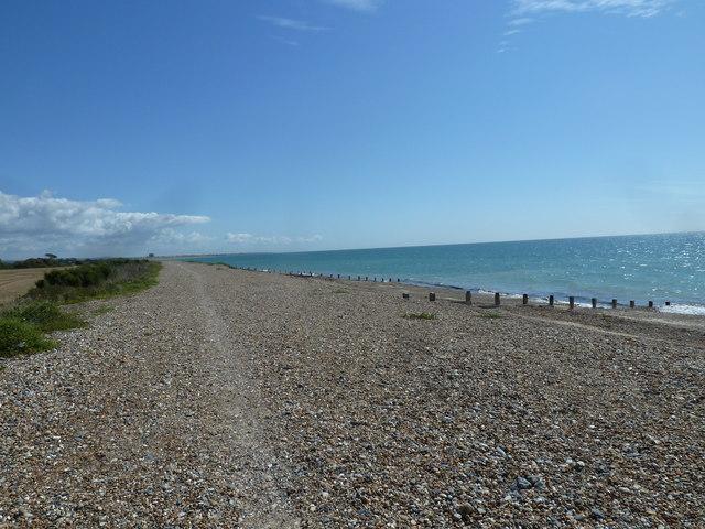 Along the coast from Atherington to Elmer (10)