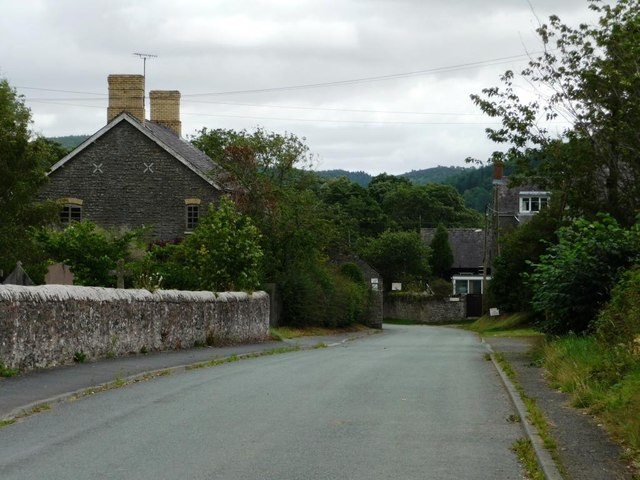 The first or last houses in Pentre