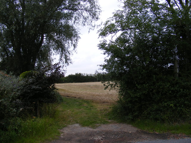 Footpath to Ipswich Road & the B1077