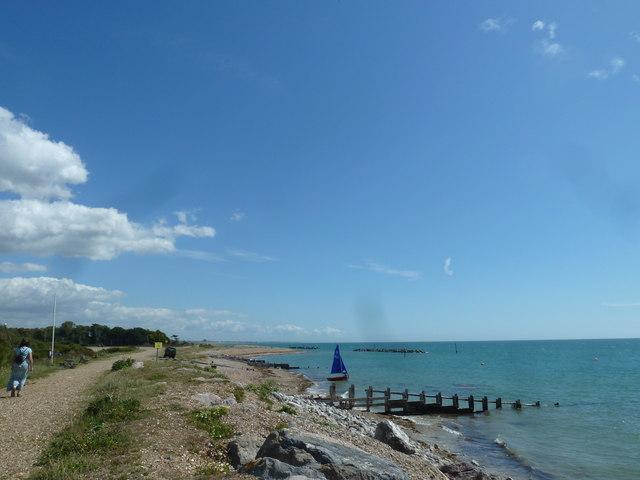 Along the coast from Atherington to Elmer (18)