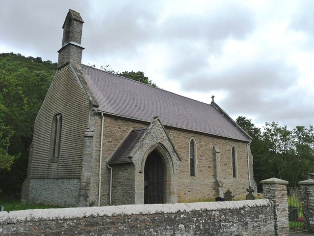 St Mary's from the west