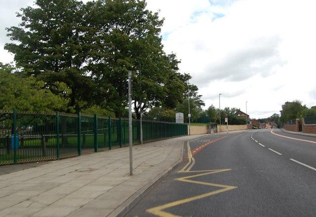 Bus stop on Bury Old Road