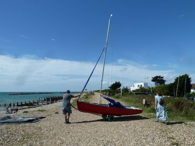Along the coast from Atherington to Elmer (30)