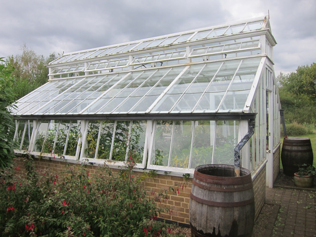 Victorian greenhouse at Yalding organic gardens