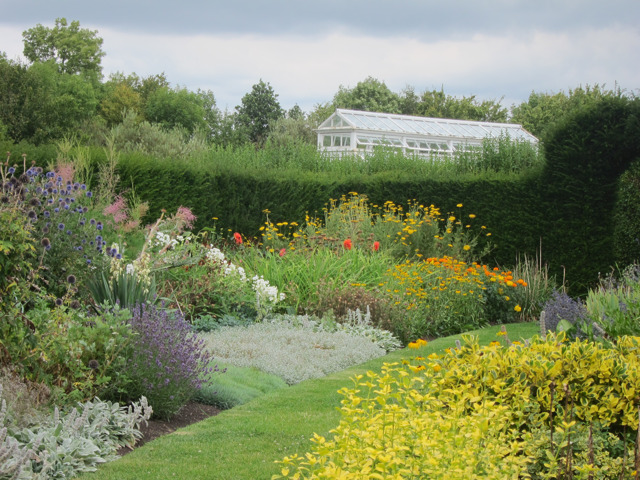 Edwardian herbaceous borders