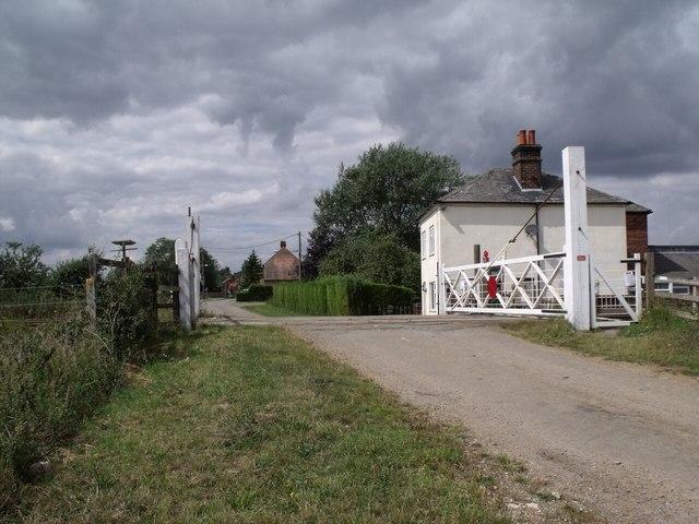 Rowston Level Crossing