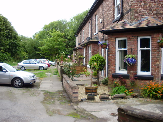 Terrace of Cottages on Lock Road, Eastham
