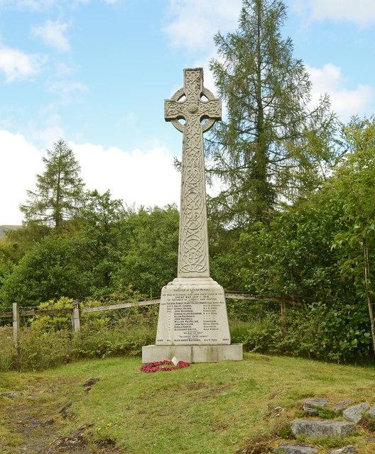 War Memorial, Glencoe