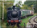 SU1089 : Tank engine, Swindon and Cricklade Railway, Blunsdon (1 of 2) by Brian Robert Marshall