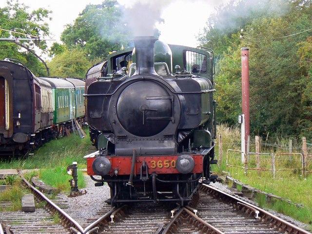 Tank engine, Swindon and Cricklade Railway, Blunsdon (2 of 2)