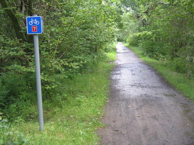 Pass of Leny path