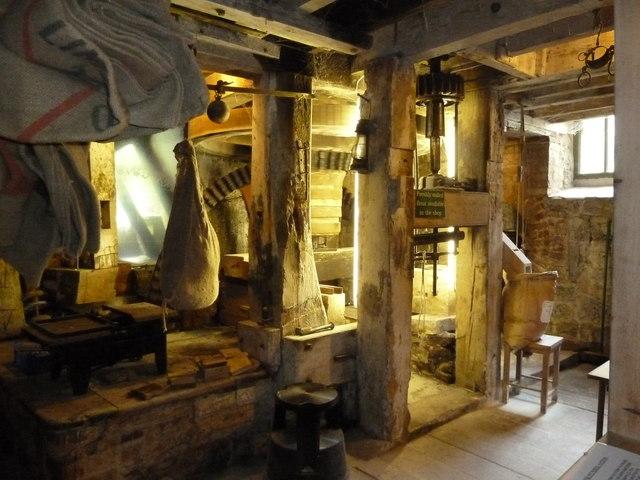 Machinery - Town Mill, Lyme Regis