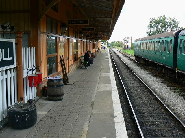 Hayes Knoll Station, Swindon and Cricklade Railway