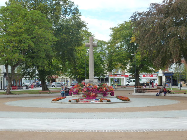 War Memorial, The Strand, Exmouth