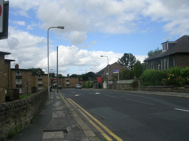 Crag Road - viewed from Poplar Road