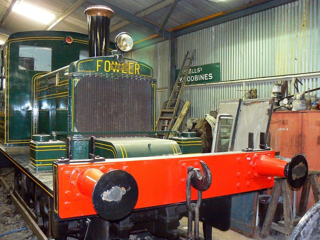 Inside the workshop, Hayes Knoll Station, Swindon and Cricklade Railway (3 of 3)