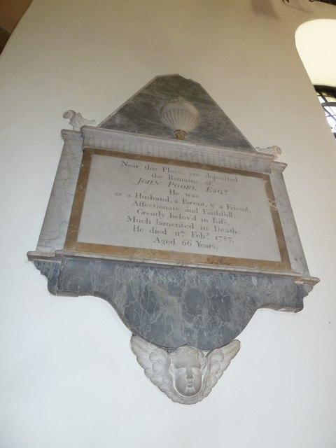 Abbotts Ann - St Mary: memorial (6)