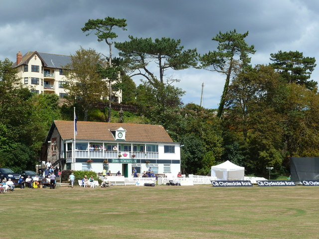 Cricket ground and pavilion, Exmouth
