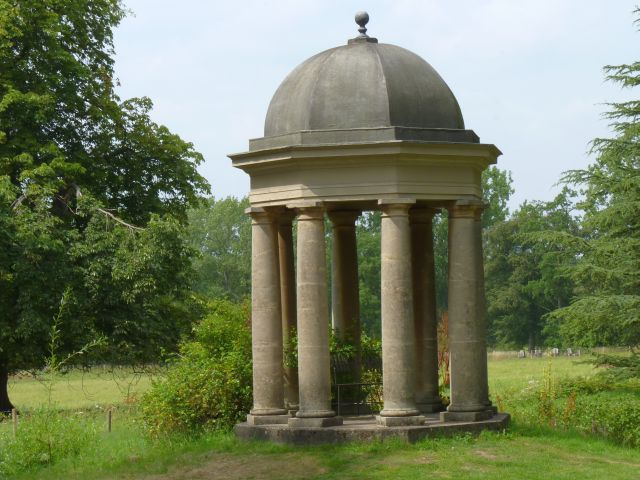 The Temple of the Winds at Doddington Hall