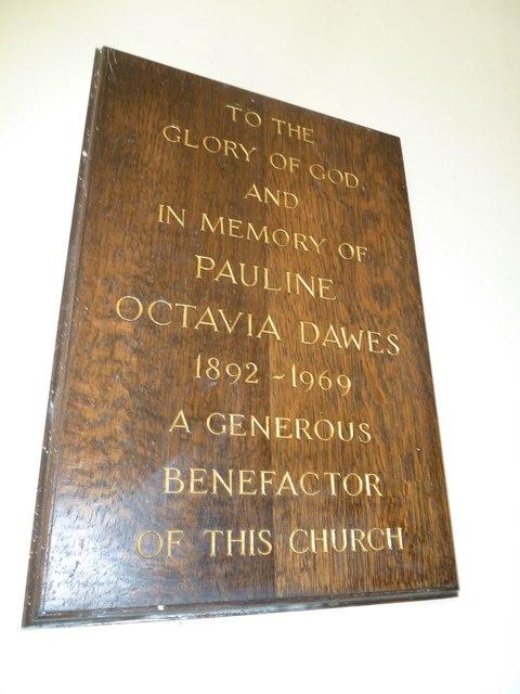 Abbotts Ann - St Mary: memorial (8)