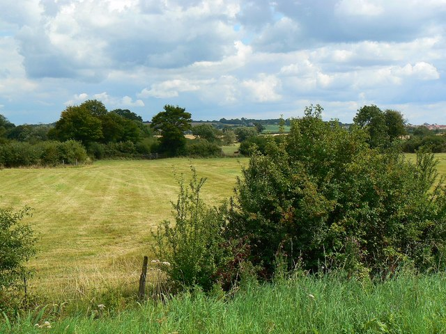 View east from Hayes Knoll Station, Swindon and Cricklade Railway