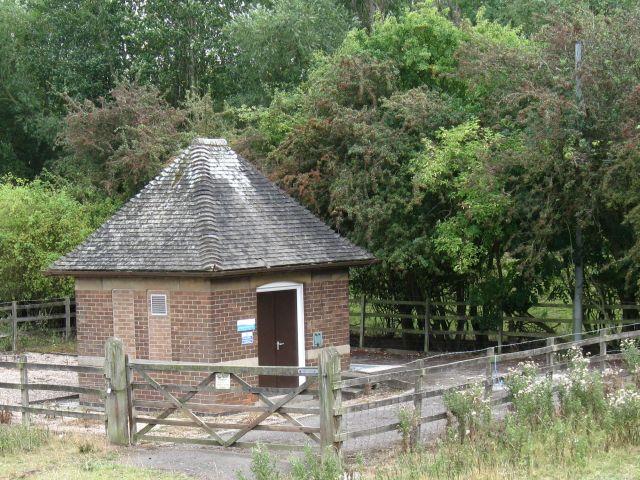 Sewage pumping station at Ambaston