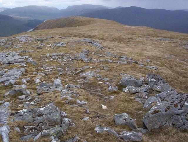 Leum Uilleim north east  ridge