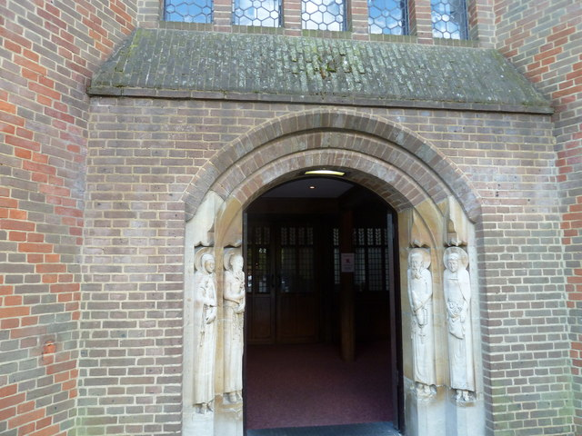 Friary Church of St Francis and St Anthony, Crawley- entrance