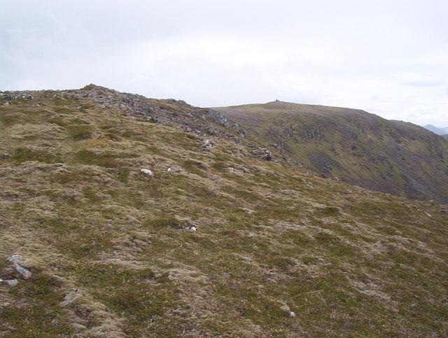 Leum Uilleim NE ridge and Summit