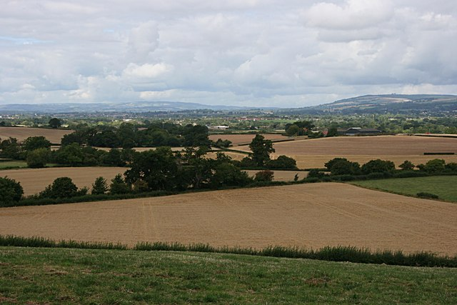 Taunton Deane From The North Curry Road