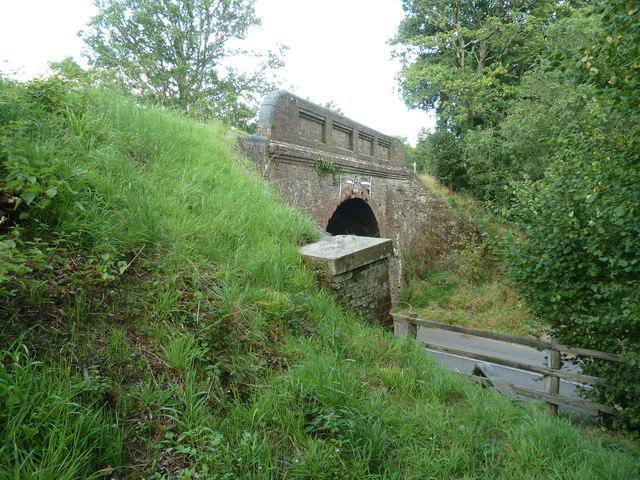 Parapet on Wildboar Bridge