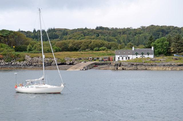 Ulva Boathouse and the Sound of Ulva