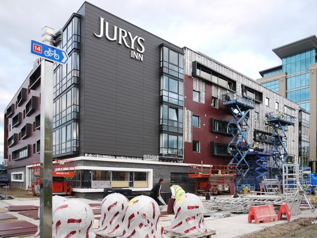 Jury's Inn (under construction), One Millennium Quay
