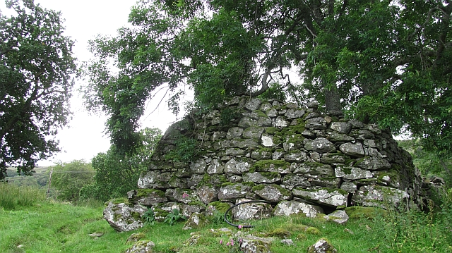 Ruin south of Loch Tay
