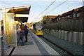 SJ8293 : St Werburgh's Road Metrolink station, Chorlton by Phil Champion