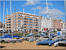 TQ7407 : Bexhill Sailing Club by Oast House Archive