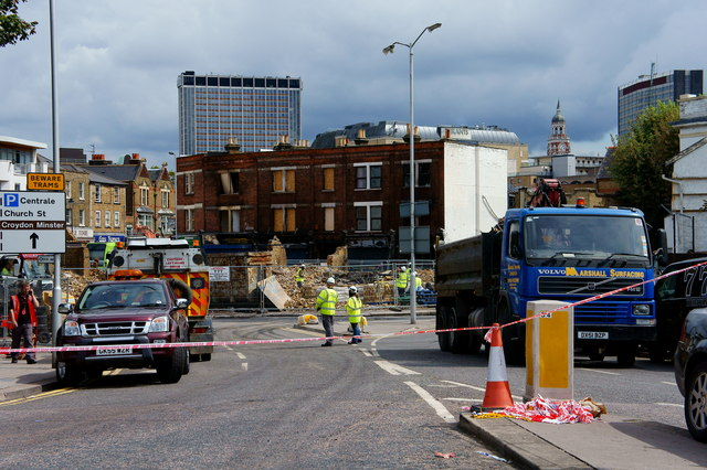Croydon Riots - four days later