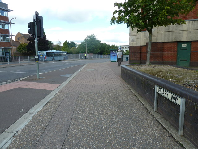 Pavement in Friary Way