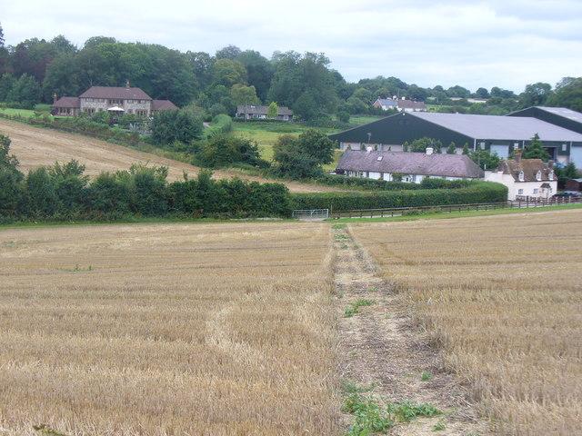 Stubble by Manor Farm