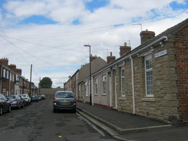 Percy Street in Hetton-le-Hole