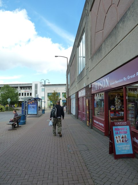 Passing Timpson in Friary Way