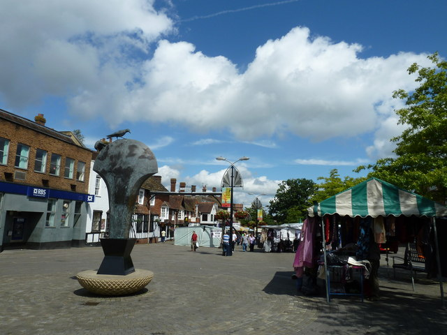 August 2011 in Crawley's historic High Street (f)
